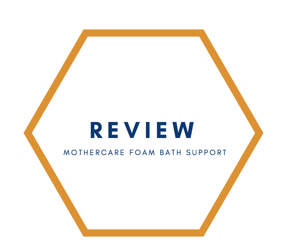 Review | Mothercare Foam Bath Support - Raising the Rings
