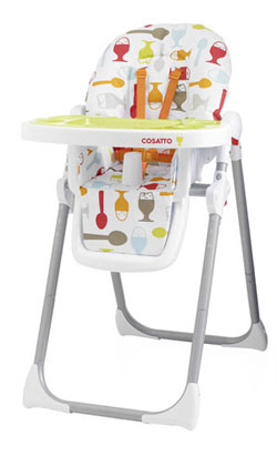 cosatto noodle dippi egg highchair product review colourful kids eating babies food weaning