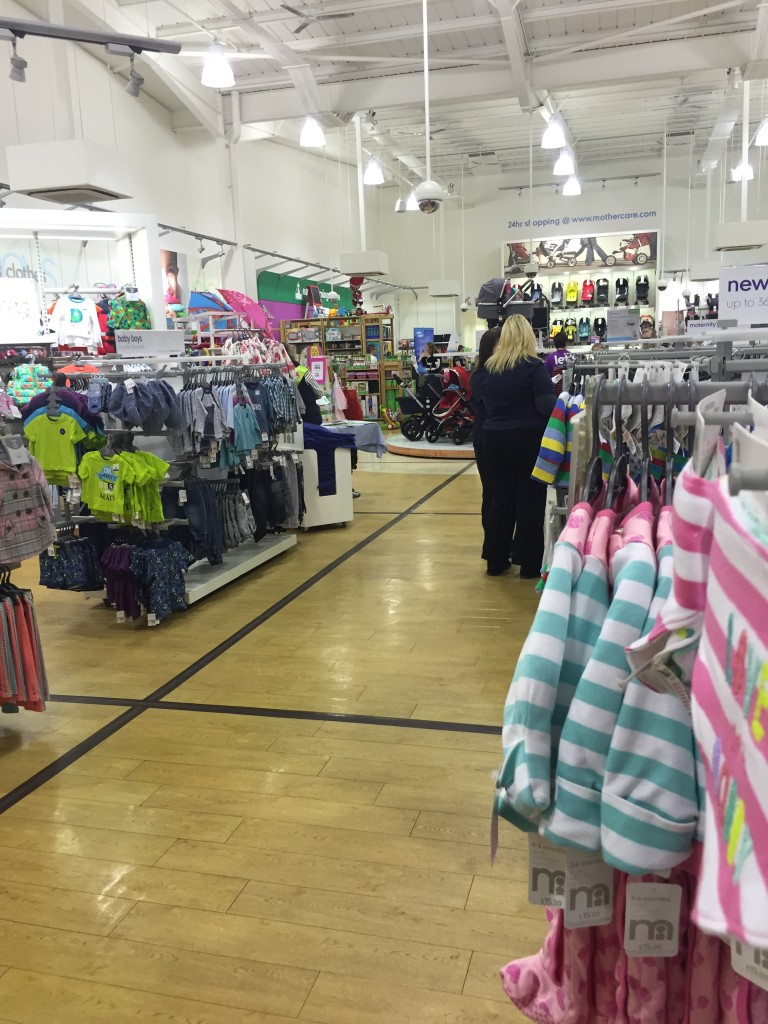 Mothercare Expectant Parent Evening inside store