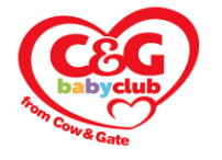 Where to find baby freebies in the UK - Baby freebies and where to find them - Cow and Gate Baby Club logo
