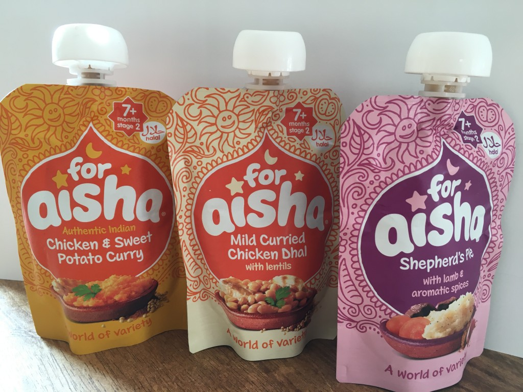 Cooking For Aisha review giveaway food pouches baby weaning halal baby friendly