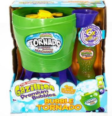 gazillion bubbles tornado machine summer garden toys outdoors indoors occupy the children