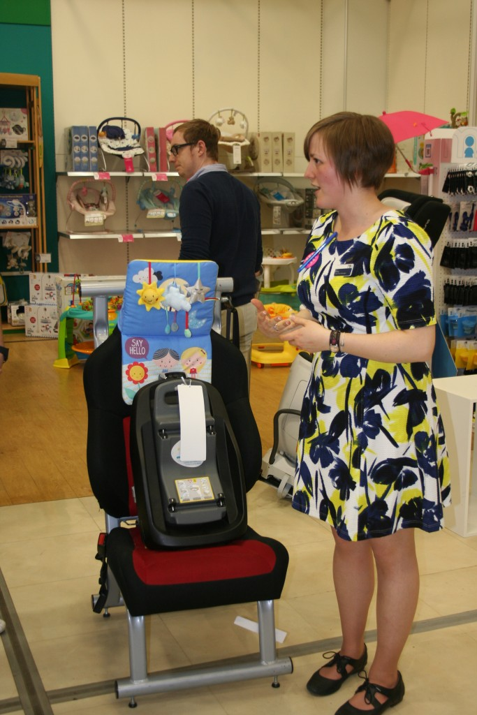 mothercare expectant parent evening event 2016 goodie bag what happens what's included what can i expect local area exclusive west norfolk car seat safety talks session