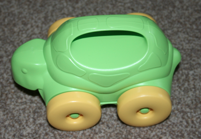 bigjigs toys play patrol toy reviewing team green toys push along turtle