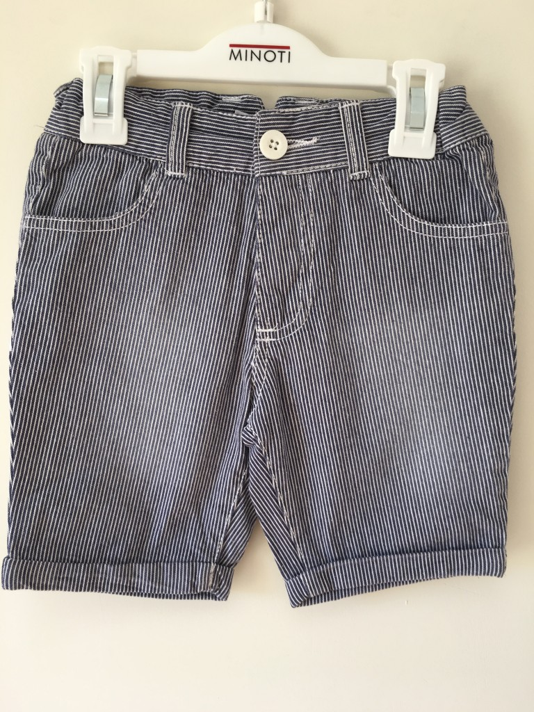 roco clothing review striped minoti shorts blue and white pinstripe autumn collection
