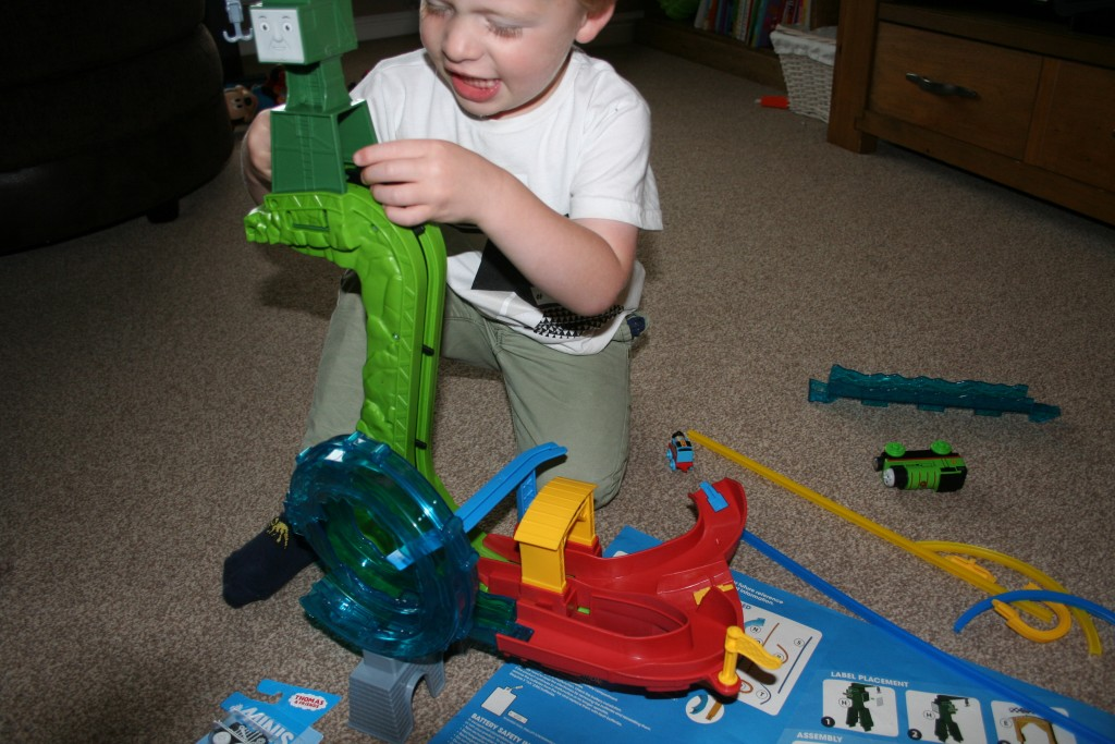 Thomas And Friends Minis Motorised Raceway review set up cranky