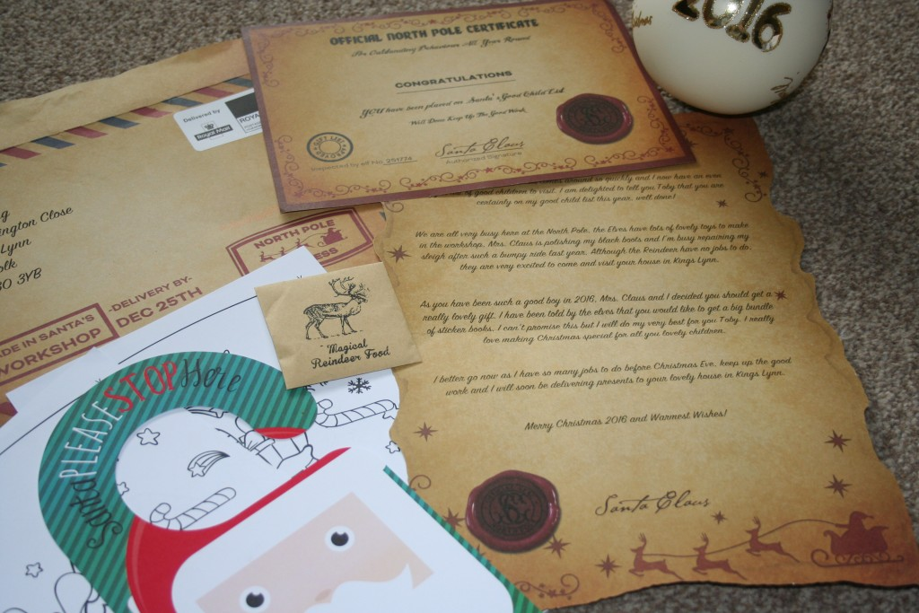magic santa letter review personalised father christmas north pole magic reindeer food good child certificate colouring pages please stop here door hanger