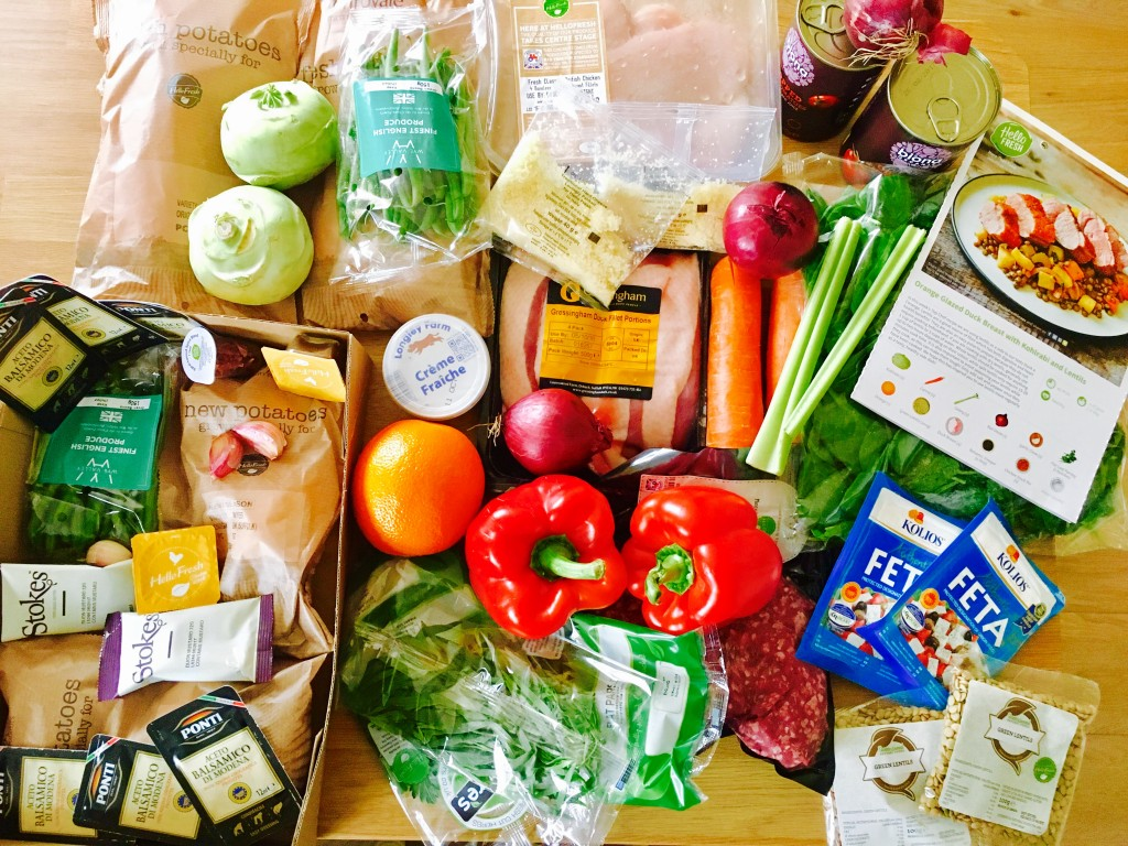 Online Purchase Meal Kit Delivery Service Hellofresh