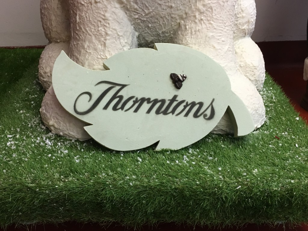 thorntons factory tour chocolate blogger event sign