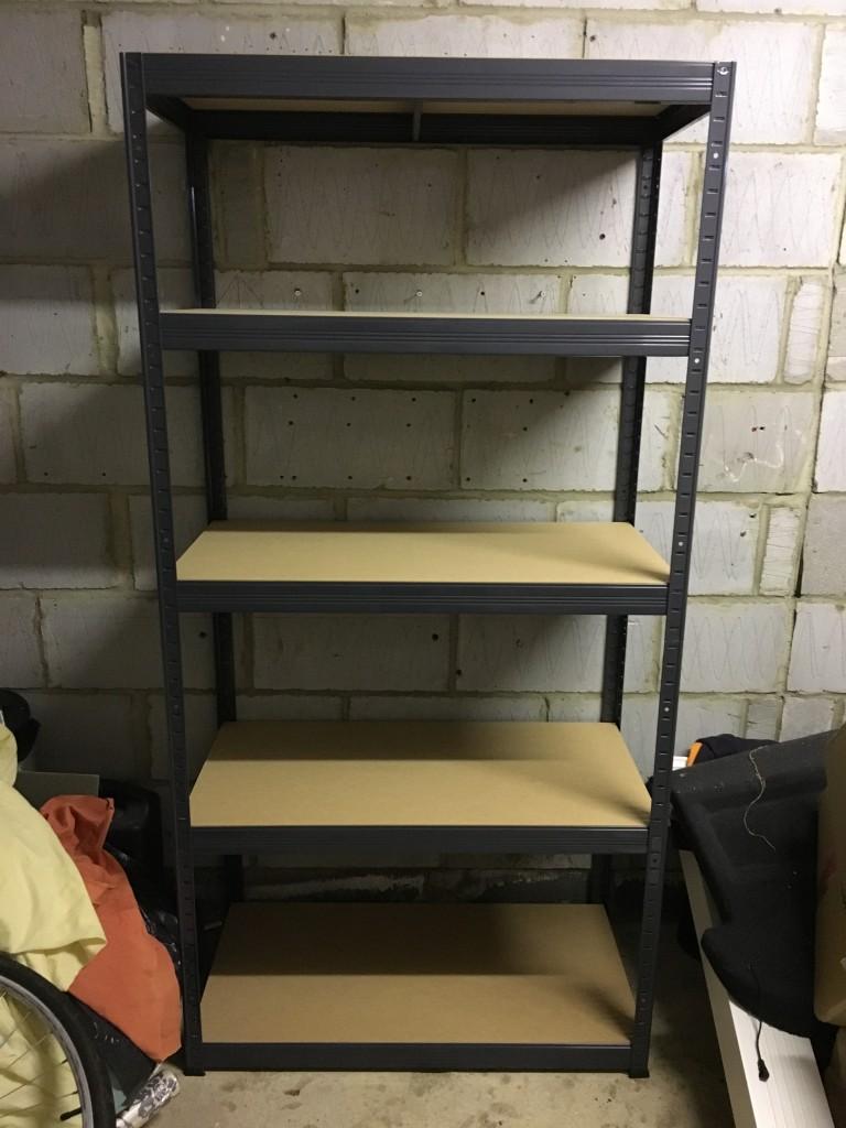 Review Tufferman Storage Storalex Value Shelving Bays garage organisation