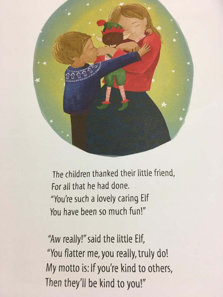 an elf for christmas review elf on the shelf traditional modern boy girl competition giveaway win christmas activities ideas elf first adventure book