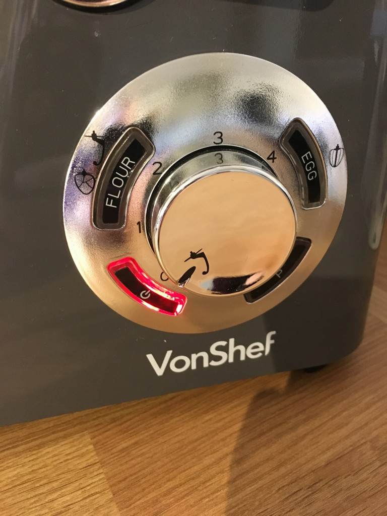 vonshef stand mixer kitchen aid alternative in grey biscuit crumbs mixture review