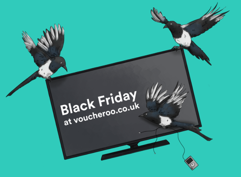 voucheroo black friday united kingdom november 25th discounts vouchers discount voucher code bargain price cut best deal