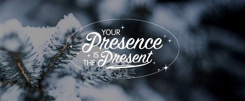 your presence is present presents christmas digital detox punkt time to log off retreat