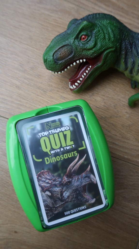 dinosaur top trumps quiz natural history museum shop twist 500 questions review