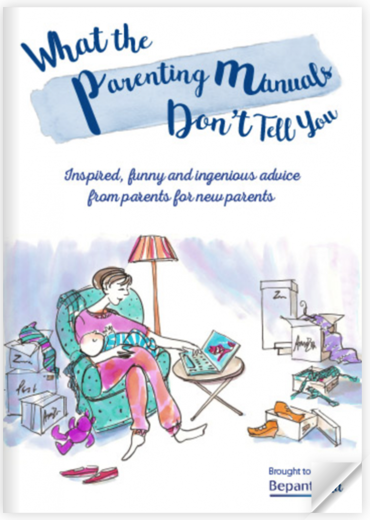 what the parenting manuals don't tell you. inspiring funny and ingenious and advice. from parents to new parents parenting expert bepanthen ebook free manual