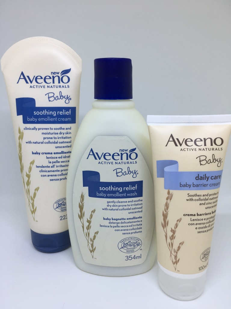 Review + Giveaway | Aveeno Baby Range - Raising the Rings