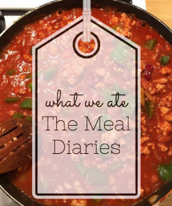 what we ate the meal diaries second week meal inspiration recipe guides meal planning raising the rings
