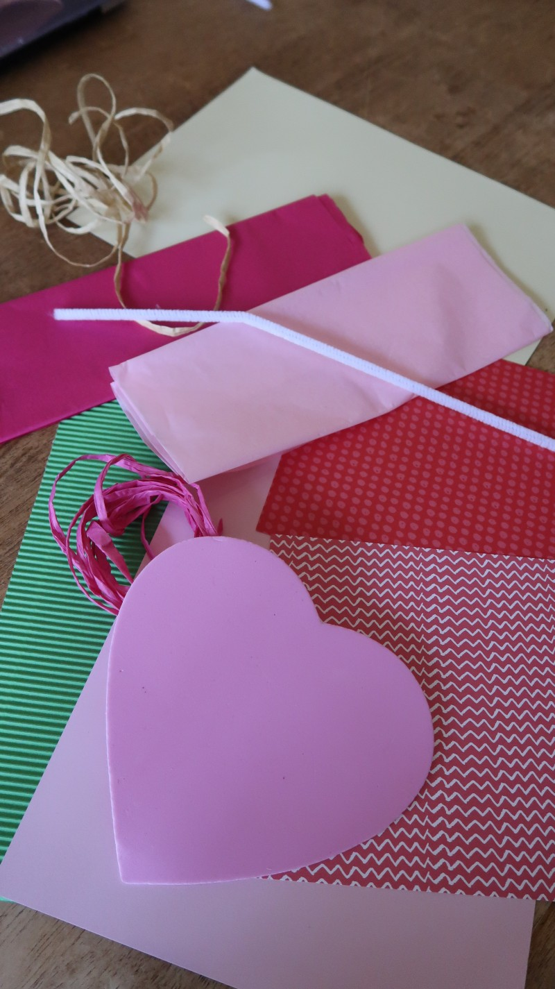 Bostik blogger raising the rings valentine's crafts ribbon and white glue card easy to do with kids cheap and cheerful ideas lovely postbox DIY do it yourself