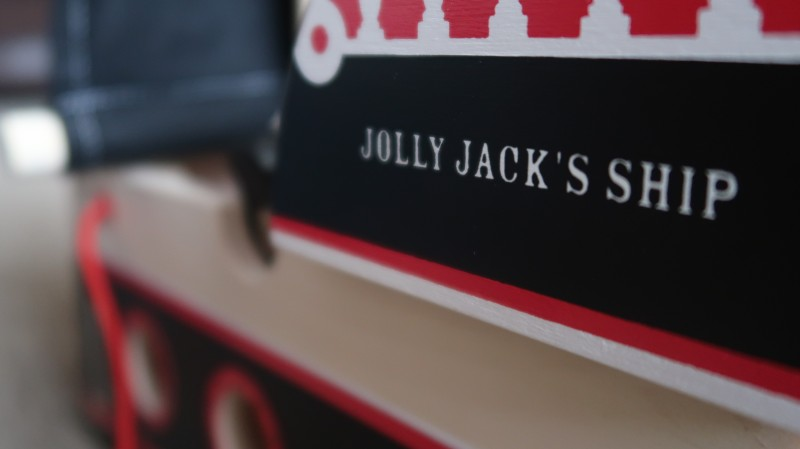 jolly jack's pirate ship review indigo jamm toys discount code wooden solid build toy rubberwood birch ply uk made long lasting toby holding the box