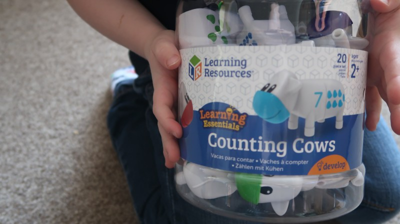 Learning resources snap n learn counting cows educational toys for home essentials development motor skills counting age 2+