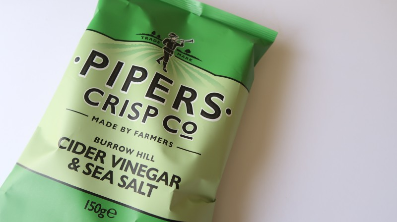 degustabox review march 2017 pipers crisp co burrow hill cider vinegar and sea salt posh crisps raising the rings