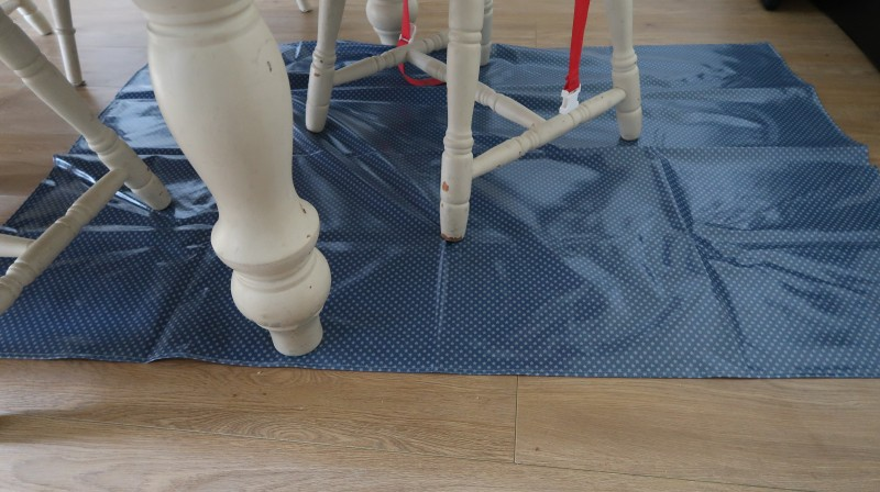 messy me splashmat dusty stars mess saver for under table review