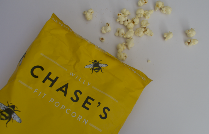 degustabox february 2017 review what was in the box contents willy chase's fit popcorn healthy low calorie salted honey flavour