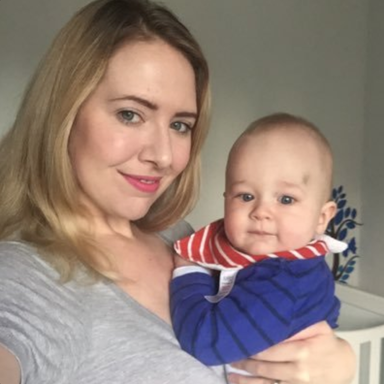 mummy to dex lifestyle and parenting blog guest post for raising the rings KIT day returning to work anxiety fear leaving baby working full time and keeping up with a house mother and son everything is ok