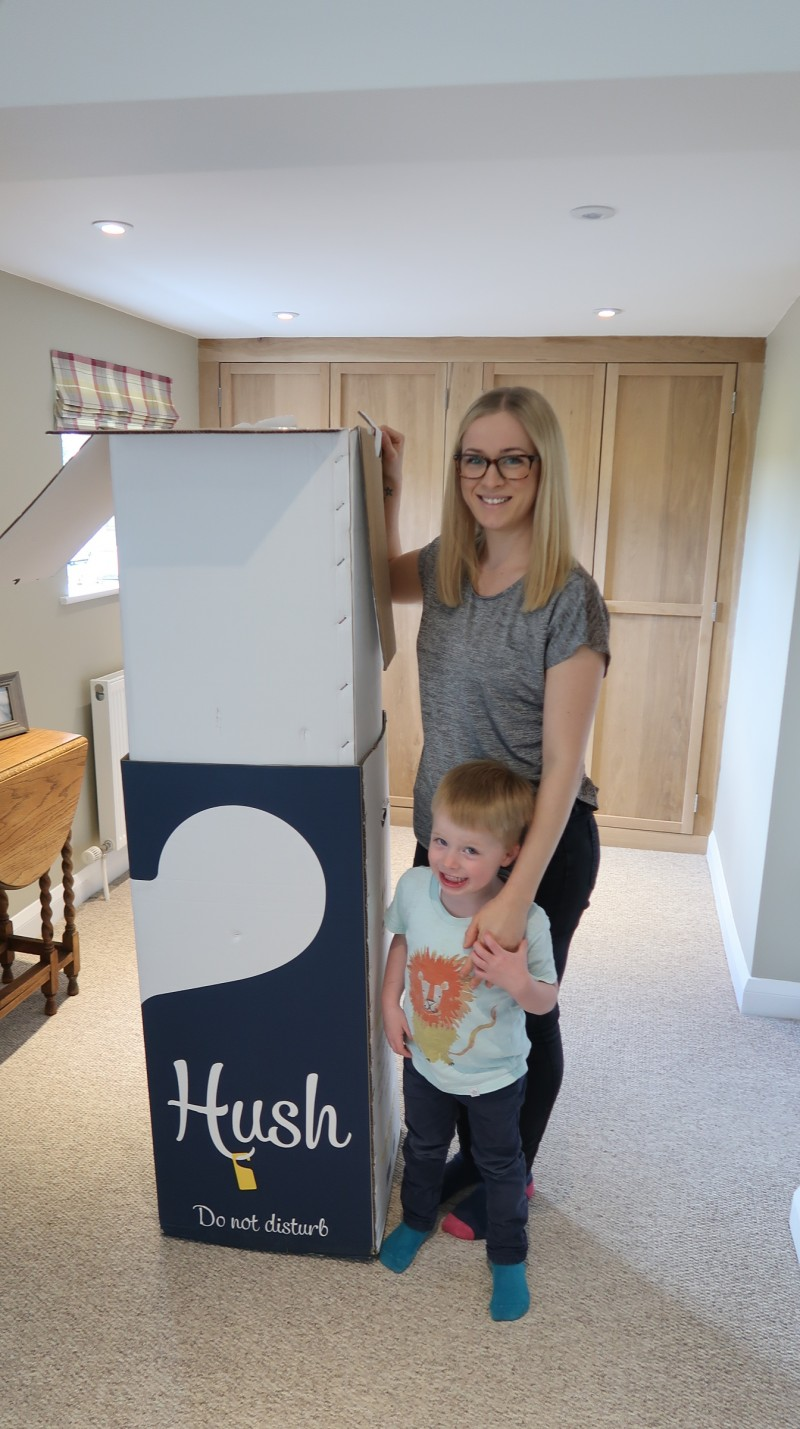 hush premium mattress review unboxing unfolding box sleep tall