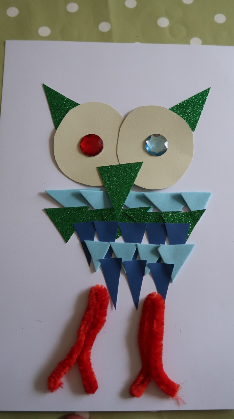 owl-collage-preschool-crafts-easy-simple-materials-at-home-finished-article