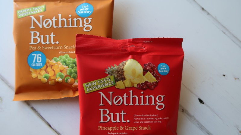 nothing but premium freeze dried snacks fruit vegetables wowbox review five a day