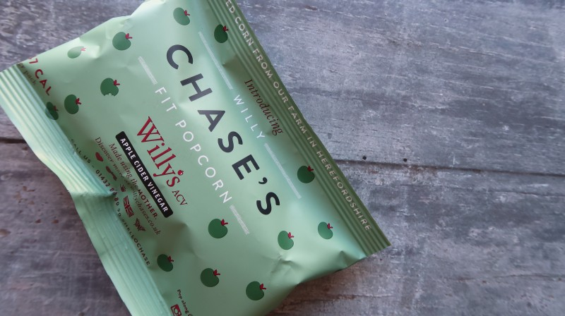 willy chase's fit popcorn apple cider vinegar made using the mother discover flavour wowbox review