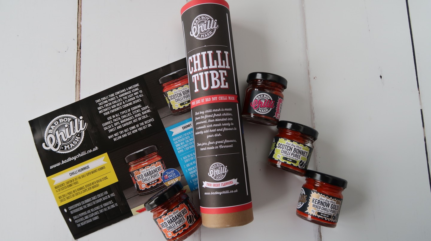 farmshoplarder farm shop larder bad boy chilli tube father's day gift guide present ideas something different cook chef