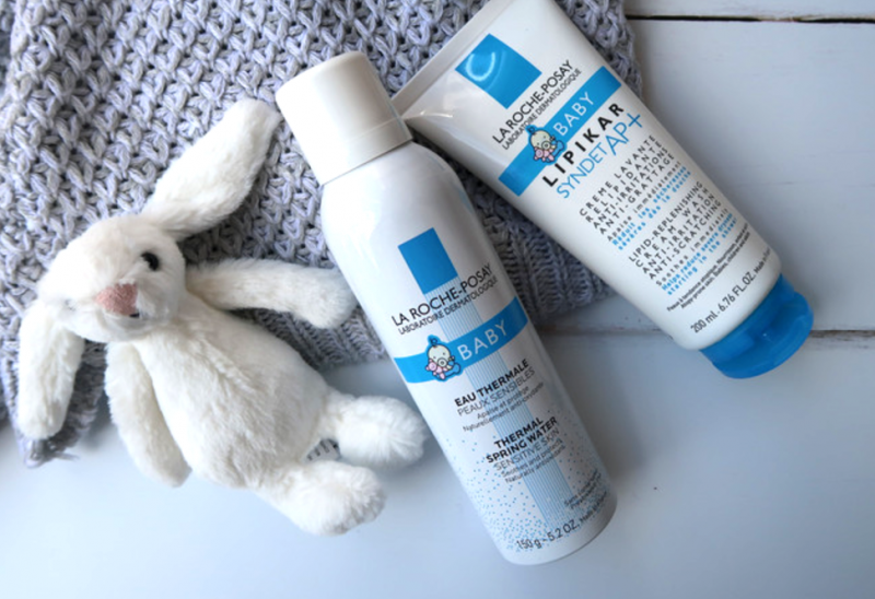 la roche-posay summer skincare baby range water spray eau thermal creme levant anti irritation itching sensitive skin fragrance free