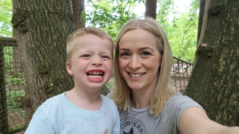 bewilderwood-adventure-park-birthday-celebration-anniversary-mother-son-selfie