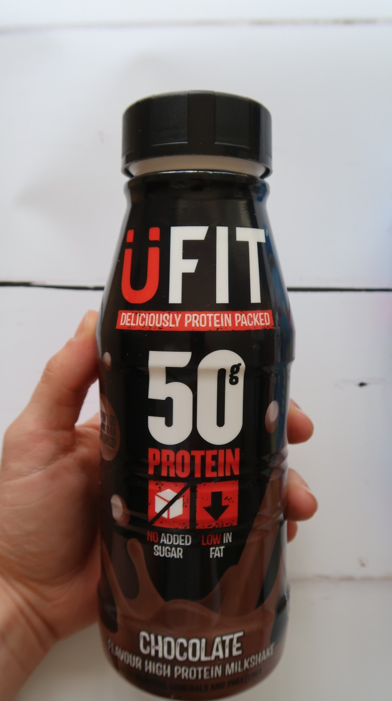 ufit protein drink milkshake review chocolate whey review