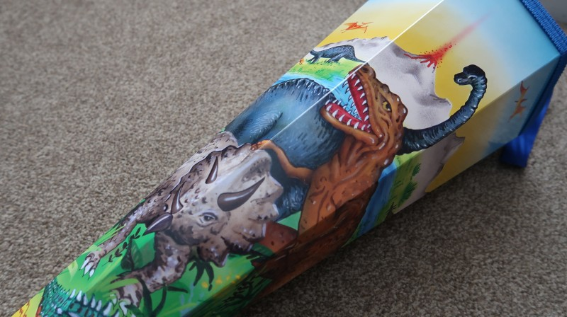 kiddicone filled review dinosaurs Schultüte german tradition kids first day at school gifts