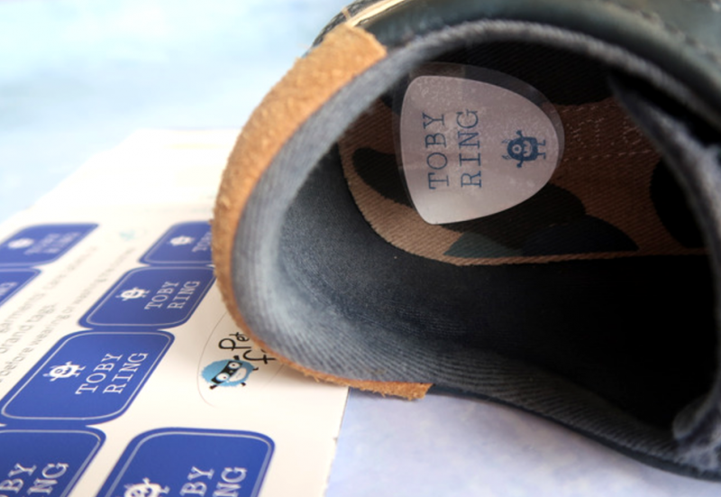 petit fernand customised labels personalised back to school iron on stick on review giveaway win