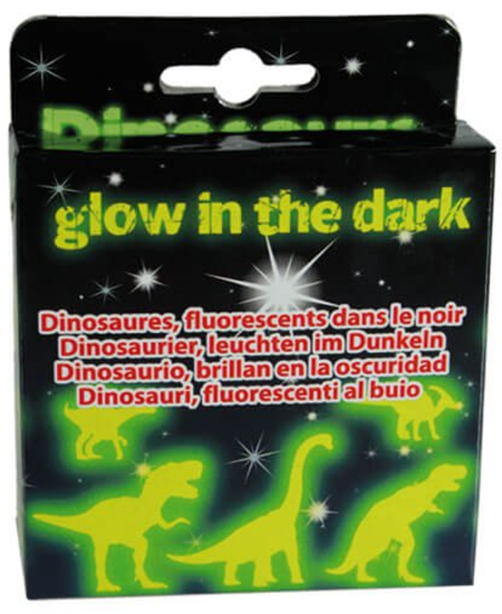 prezzybox home haul glow in the dark dinosaurs stick to wall ceiling scene toddler kids bedroom ideas