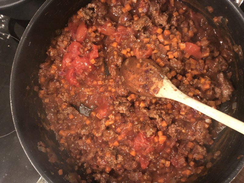 winter warmer jack daniel's sauces spaghetti bolognese recipe musclefood mince beef