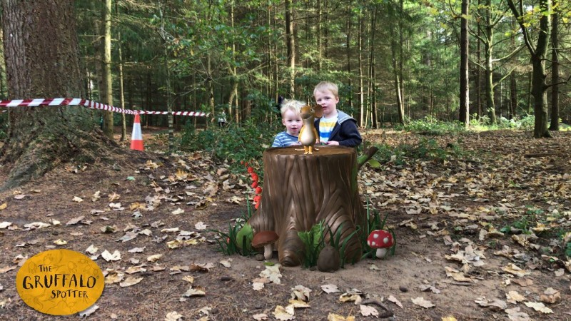 the gruffalo trail high lodge thetford forest review the gruffalo spotter app