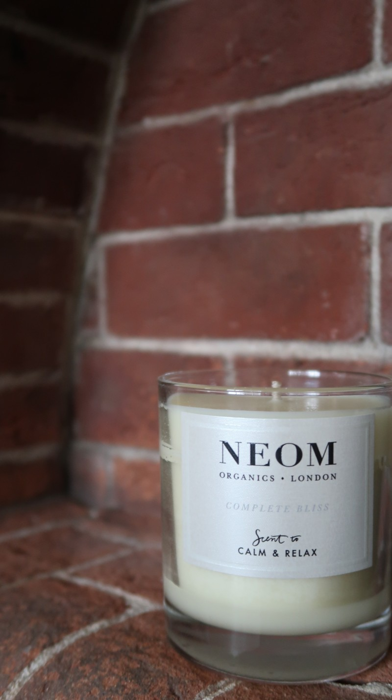 john lewis secret santa christmas present gift ideas neom organics london scent to calm and relax candle