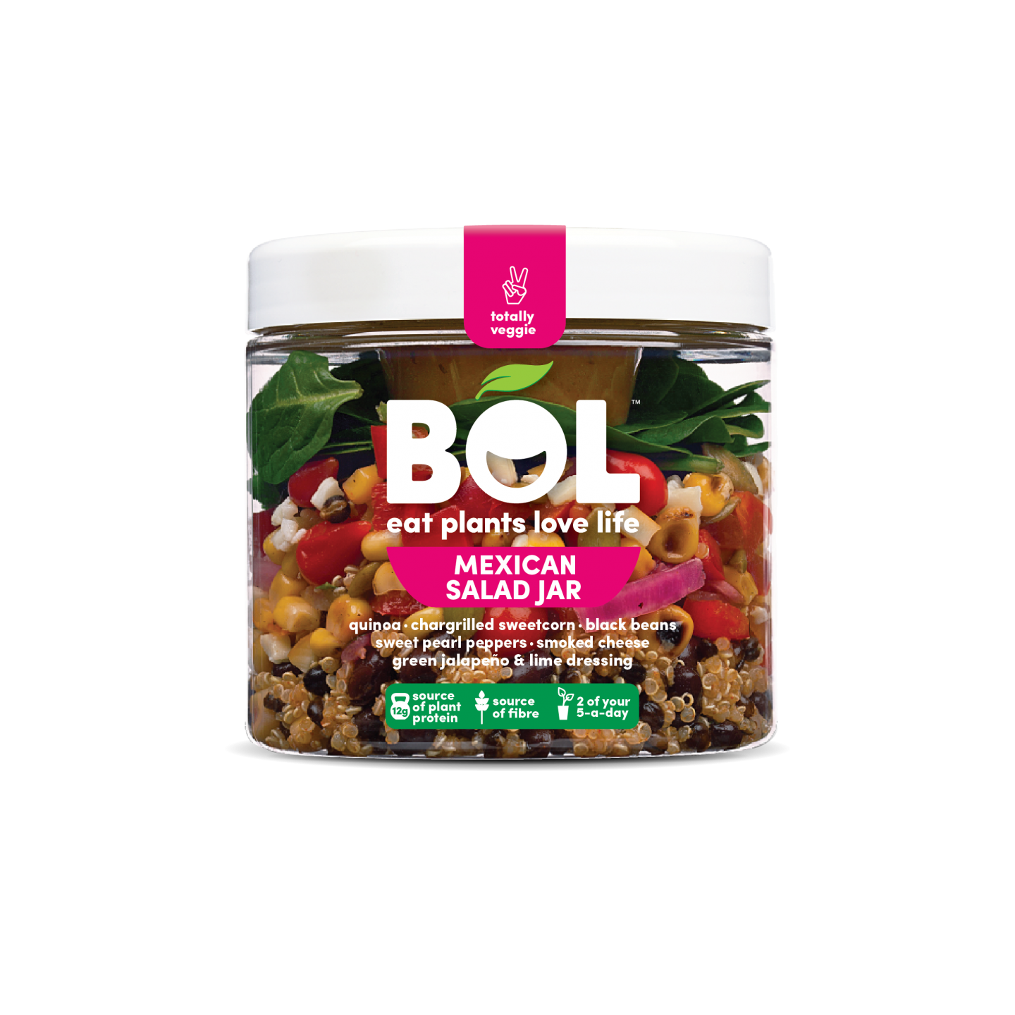 BOL salad jars review mediterranean super green salad mexican japanese vegetarian meals on the go under 350 calories
