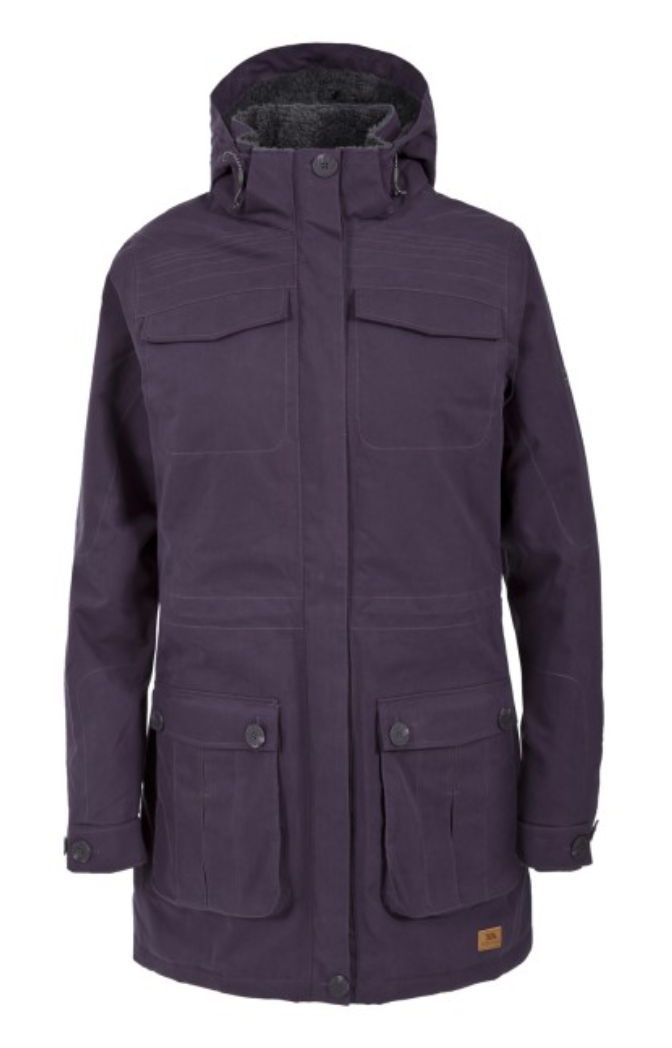 top five raincoats to get this autumn trespass taniya coat