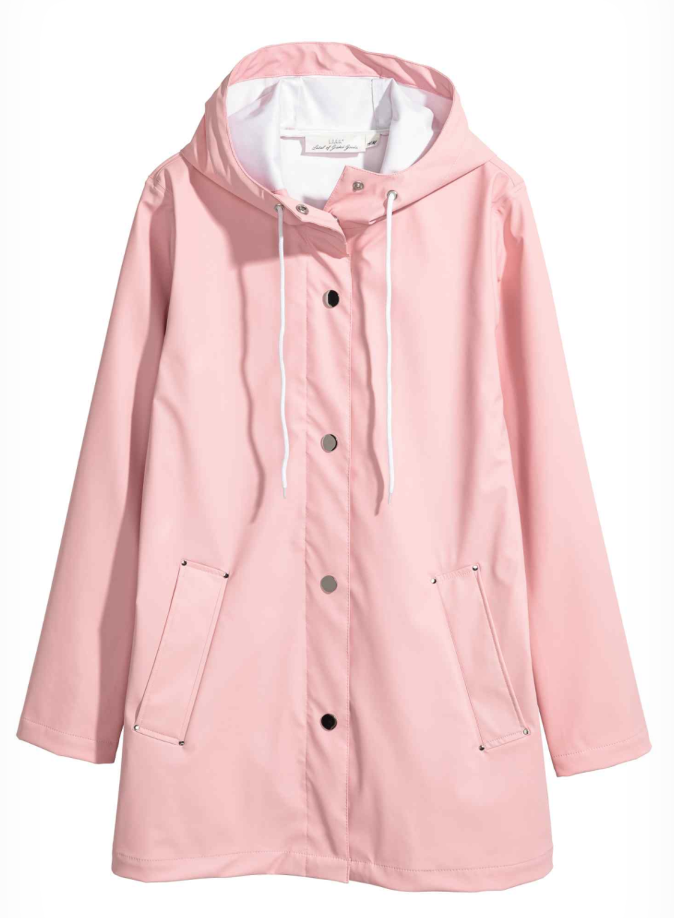 top five raincoats to get this autumn pretty in pink pastel blush coat jacket