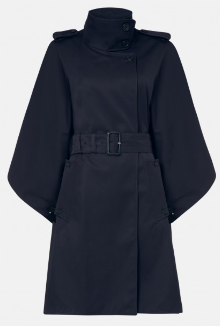 top five raincoats to get this autumn piccadilly cape aquascutum trench navy