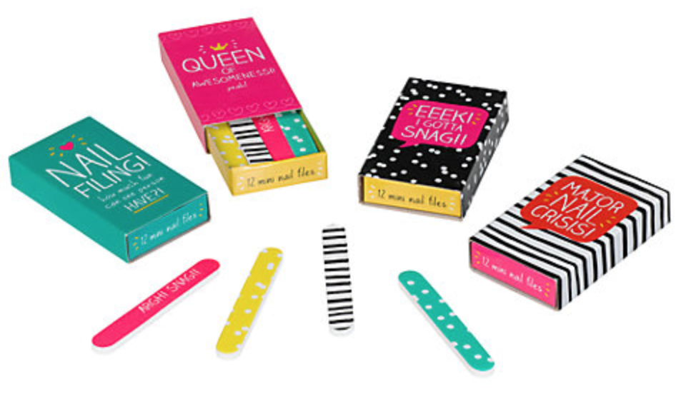 john lewis secret santa happy jackson assorted nail files gift ideas stocking fillers for her women girls