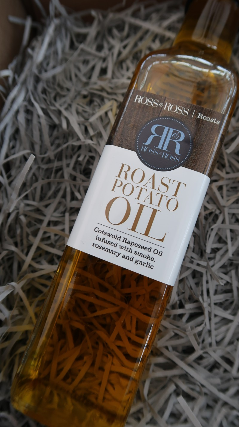 raising the rings christmas bonanza 30 days of giveaways win your presents ross and ross christmas roast dinner box roast potato oil infused smoke garlic rosemary
