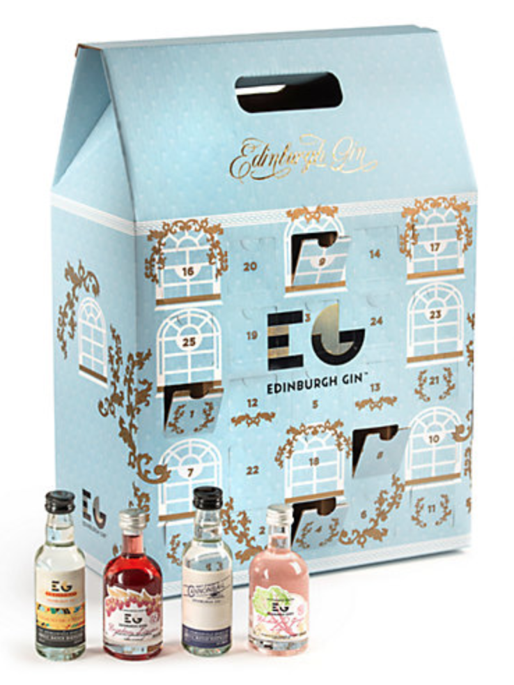 Christmas Alternative To Chocolate Advent Calendar List john lewis edinburgh gin